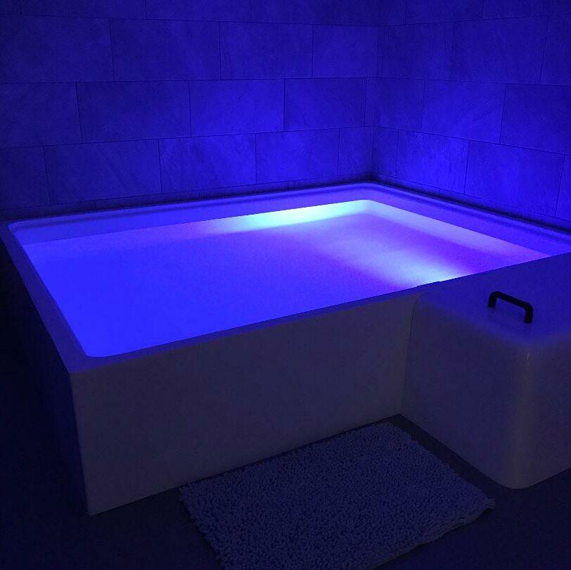 infinity float open pool